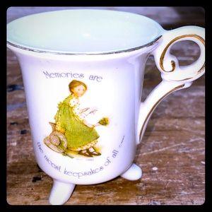 Vintage Unique Holly Hobby Tea Cup